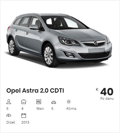 Rent a Car Opel Astra