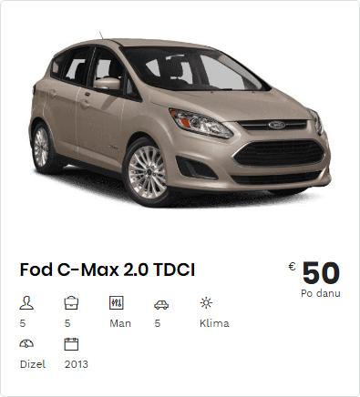 Rent a Car Ford C Max